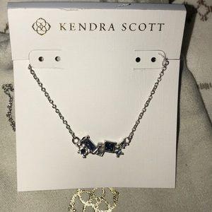 Beautiful Kendra Scott Amethyst necklace